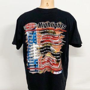 Vintage Shirts - Vintage | NASCAR Winston Cup Highlights T-shirt